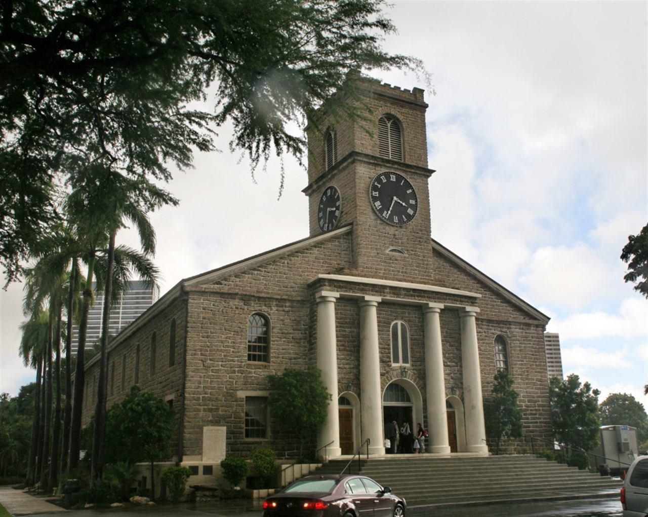 Церковь Кавайахао Гонолулу Гавайи