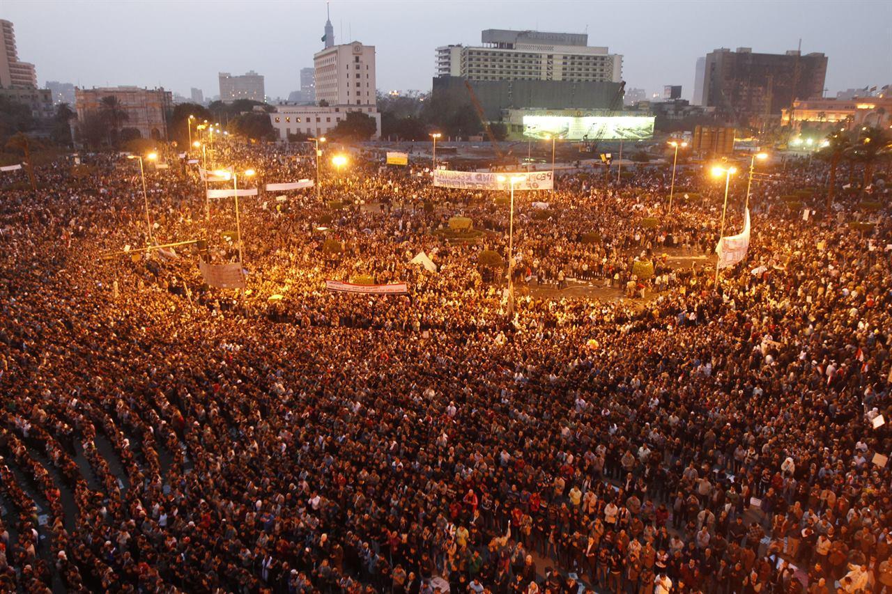 Площадь Тахрир Египет Каир