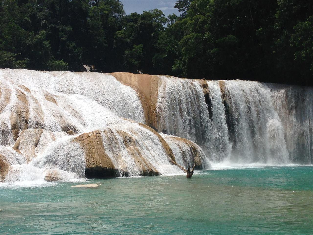 Водопады Мексики