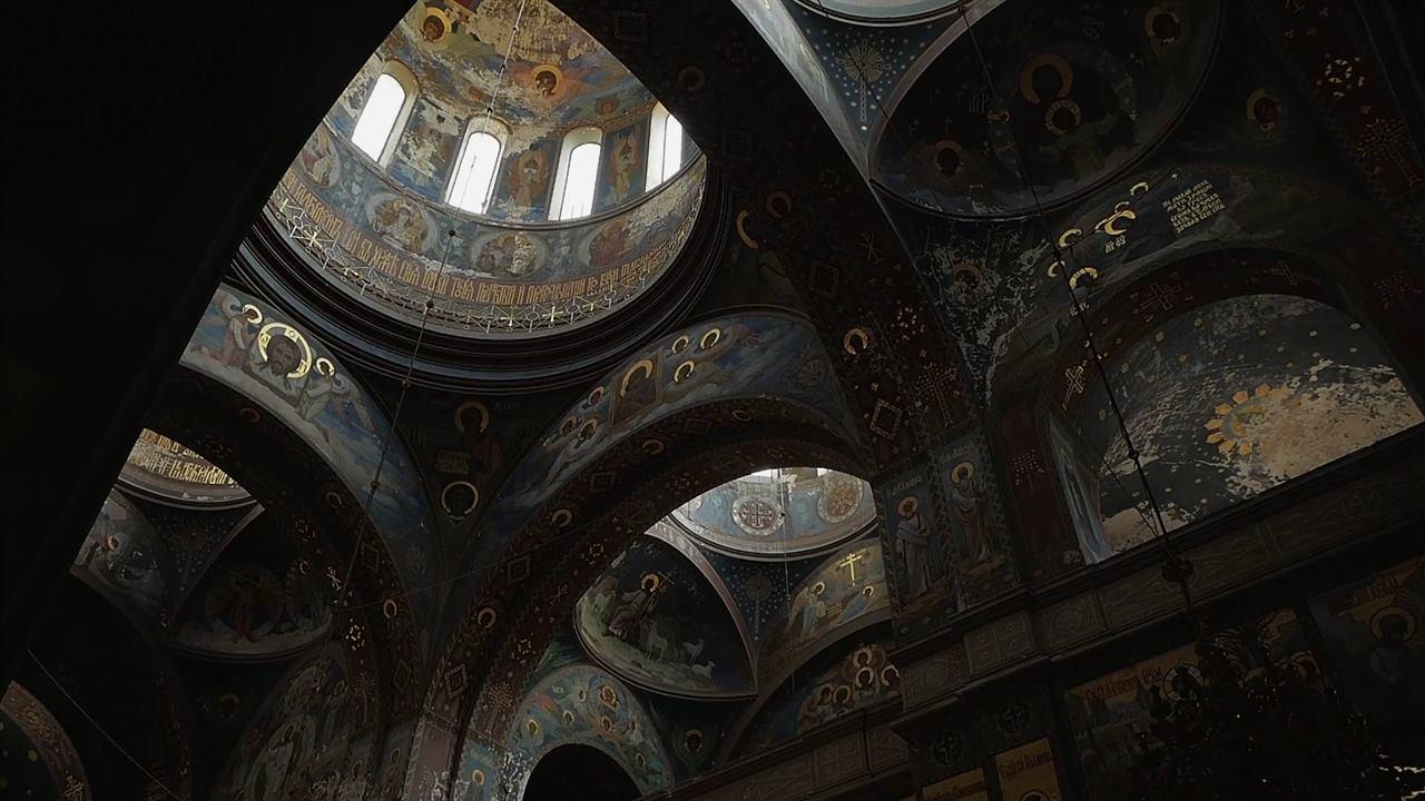 Купала внутри Новый Афон Абхазия монастырь