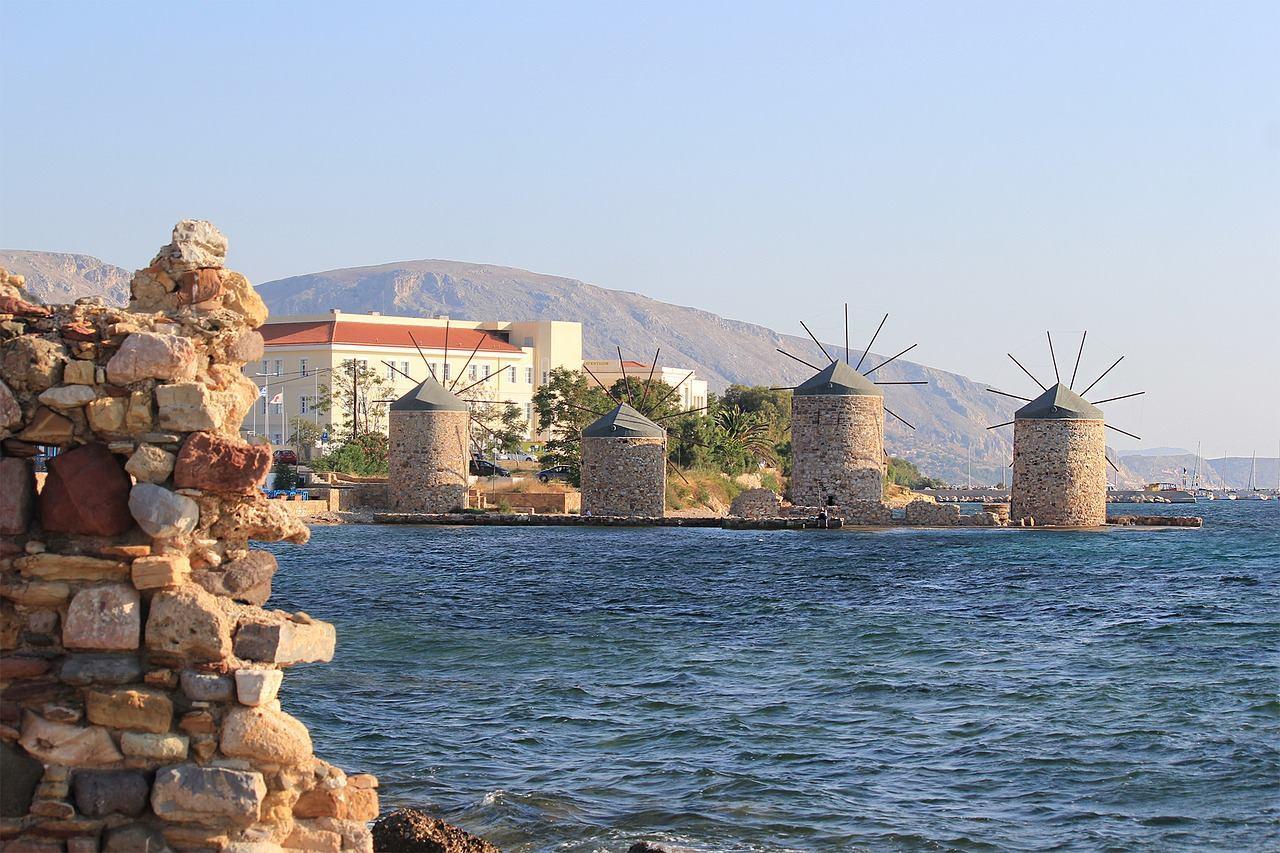 Мельницы на Хиосе