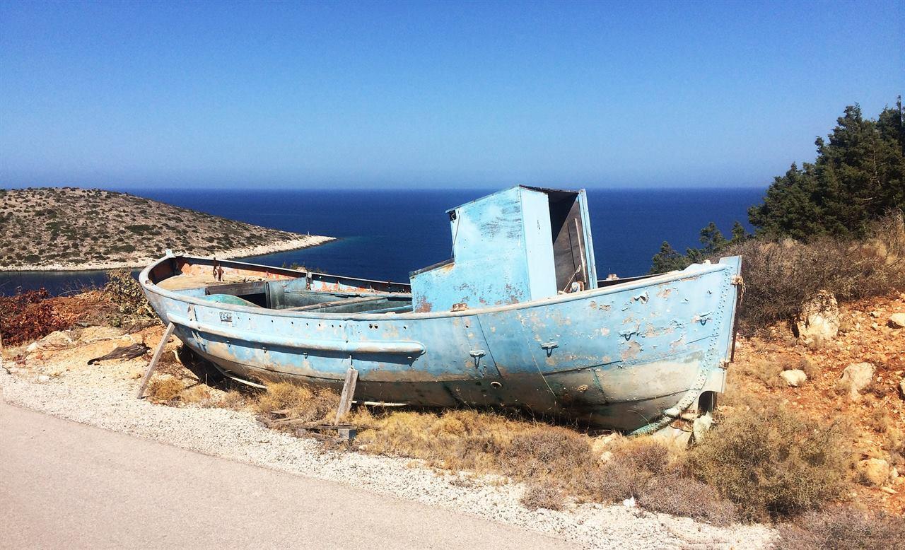 Лодка на Хиосе