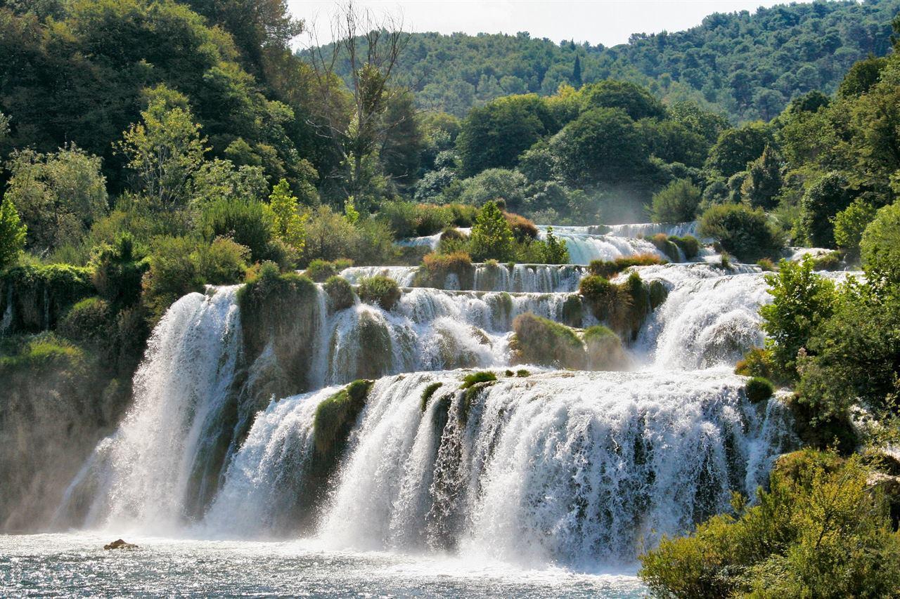 Хорватия водопады
