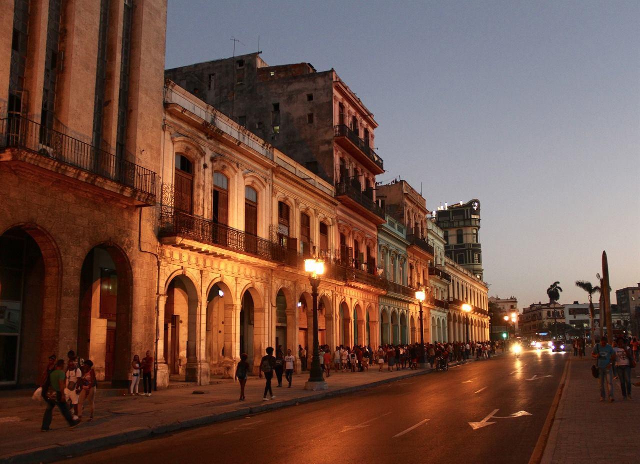 Вечерняя Куба