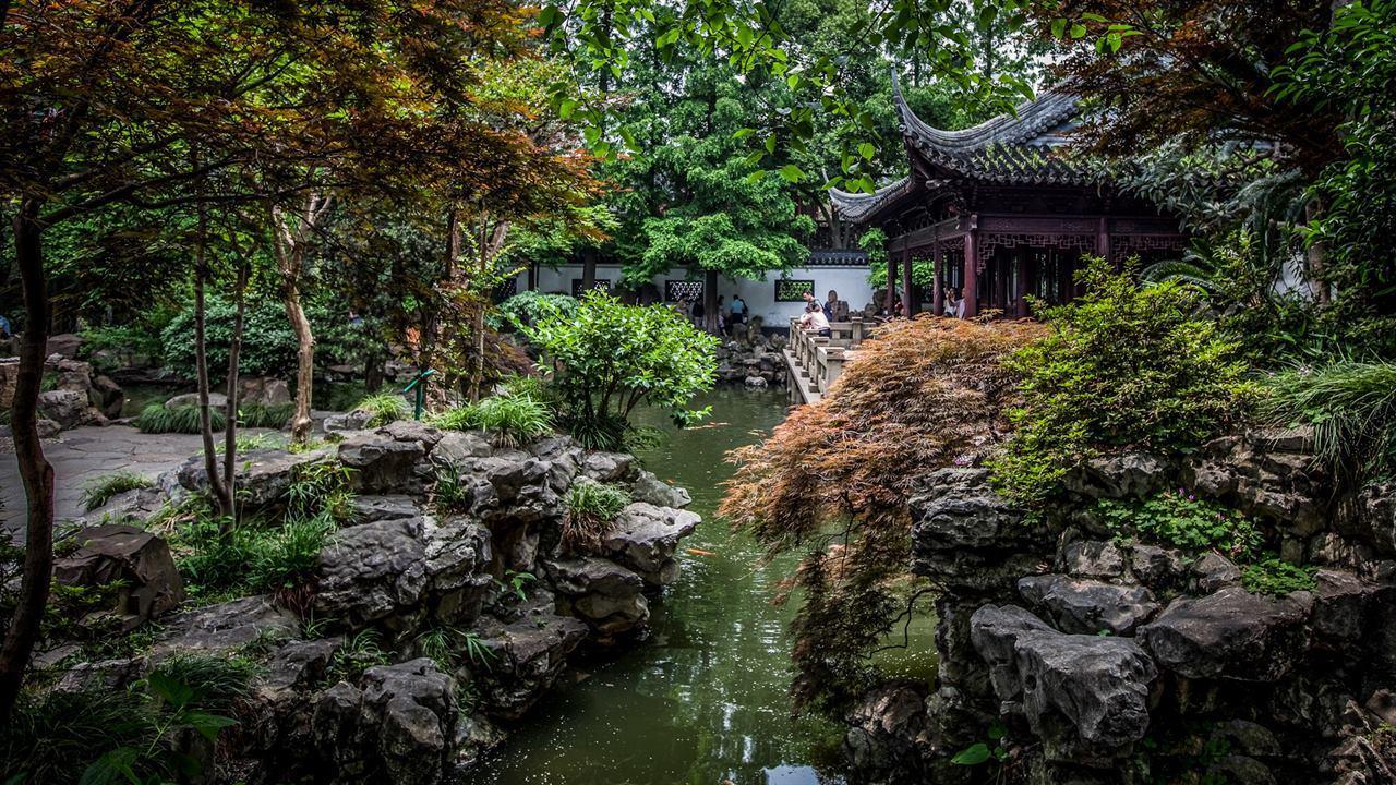 Сад Юй Юань Шанхай