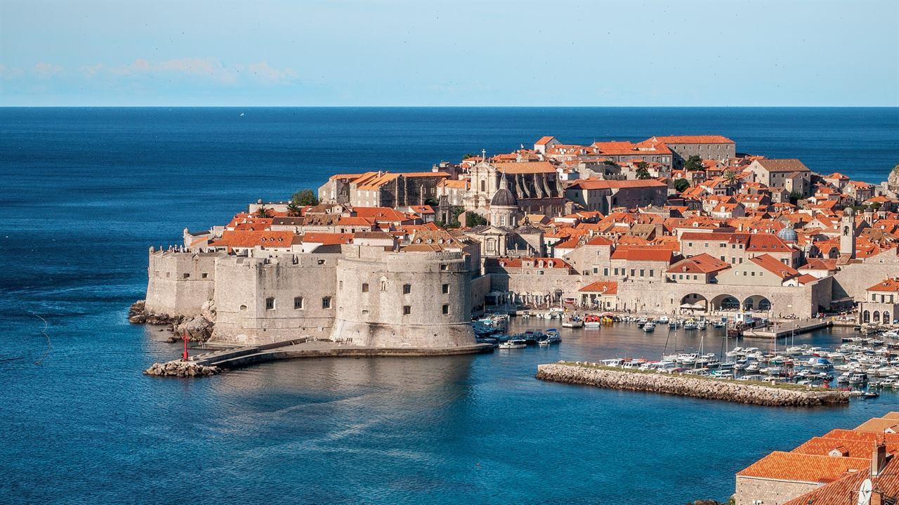 Море замок Хорватия