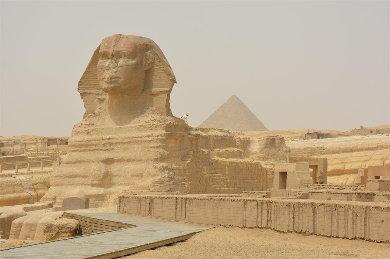 Сфинкс Каир Египет