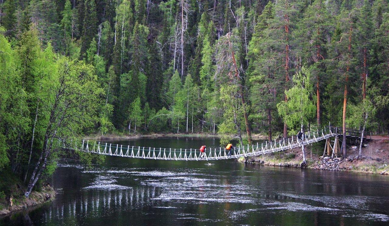 Обзор национального парка Оуланка, Финляндия