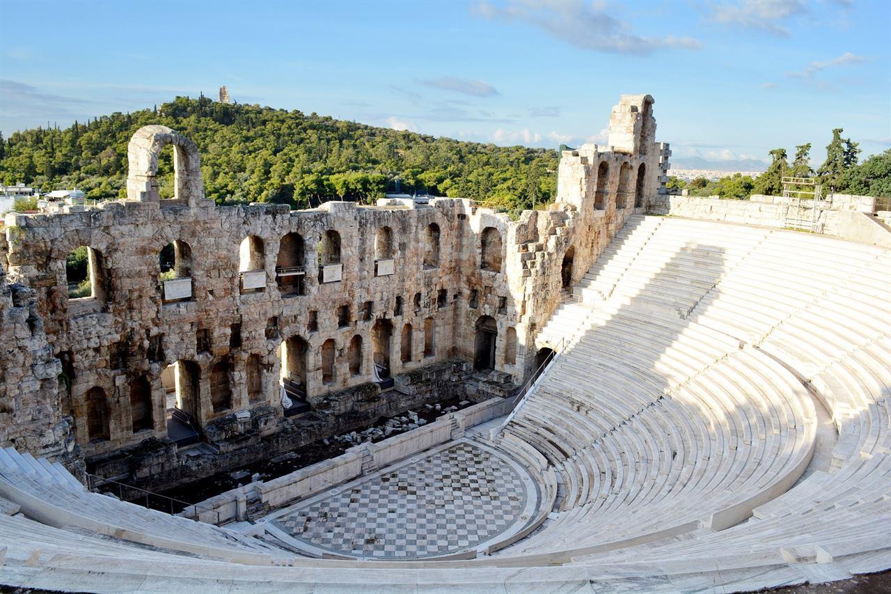 Акрополь Парфенон Греция Афины
