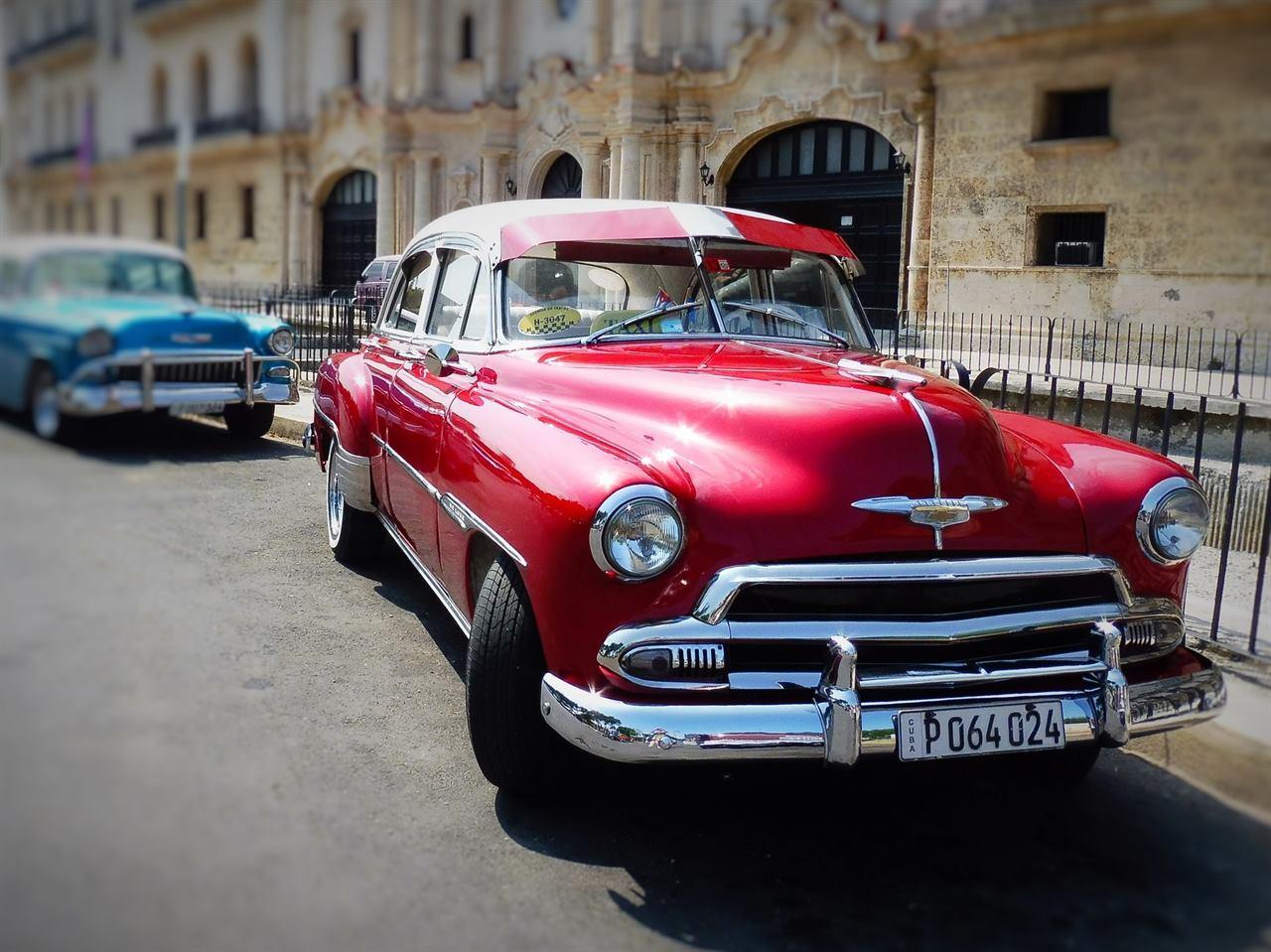 Путешествие в прошлое на Кубе