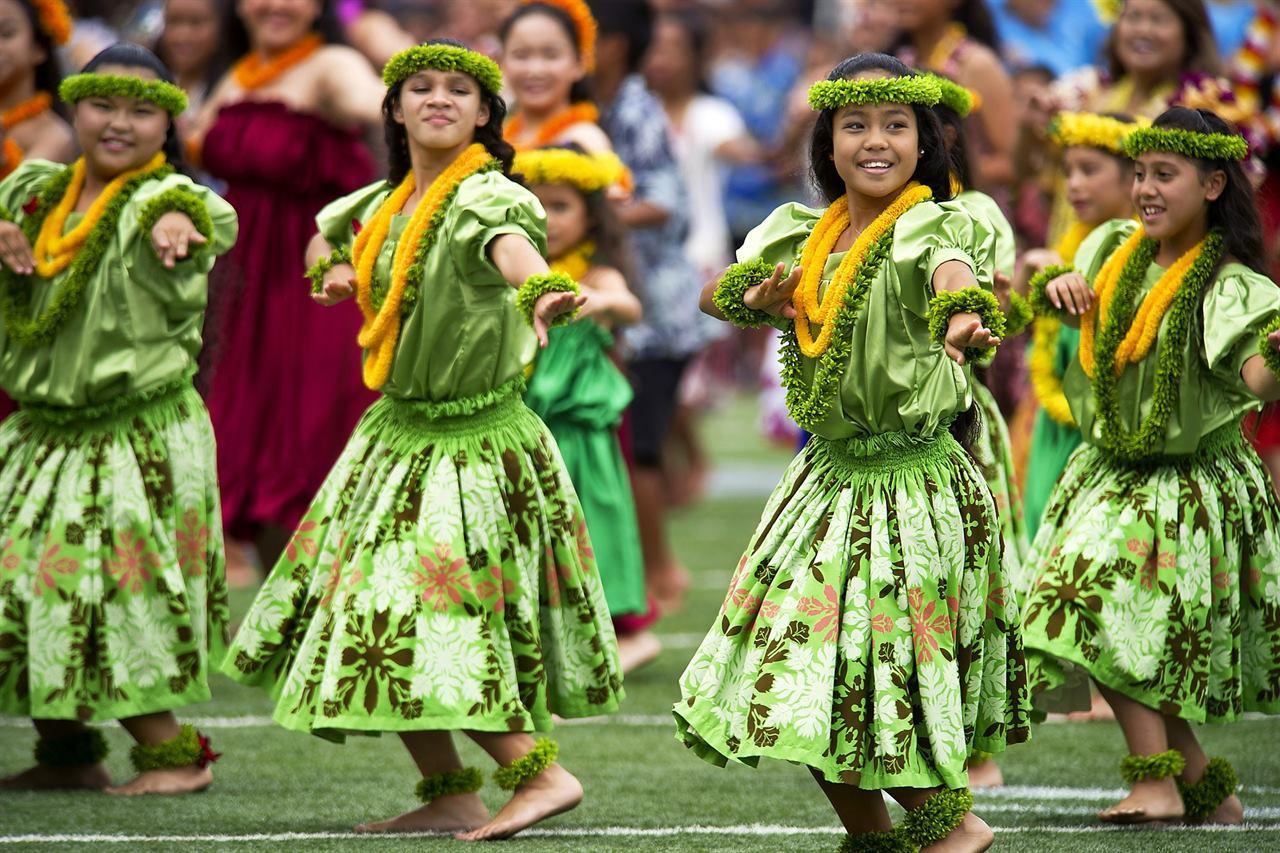 Гавайские жители