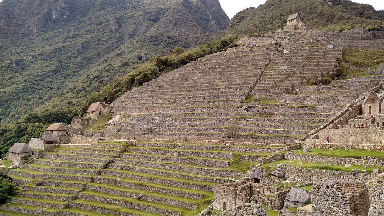 Мачу-Пикчу город Инков древние ступени