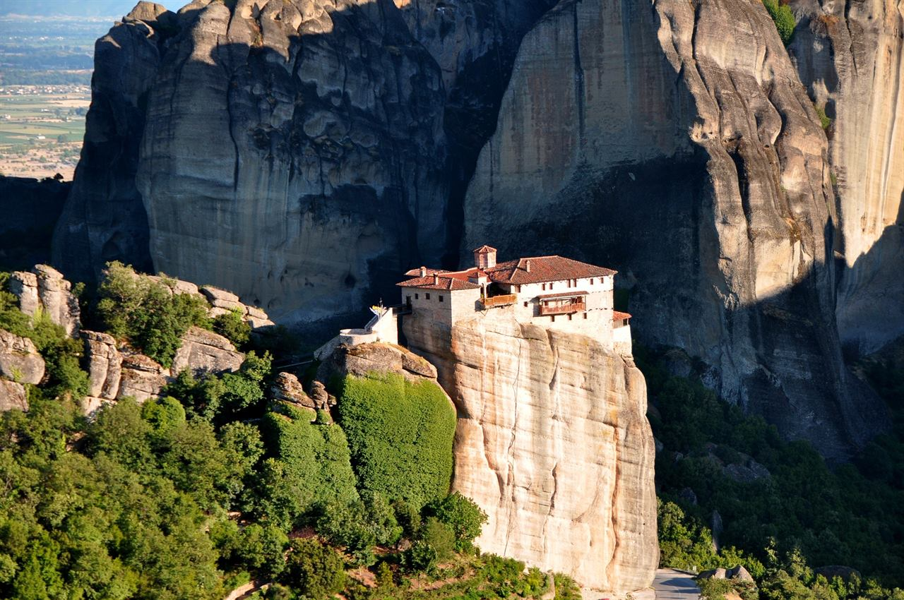 Скалистые природные ландшафты Фессалии