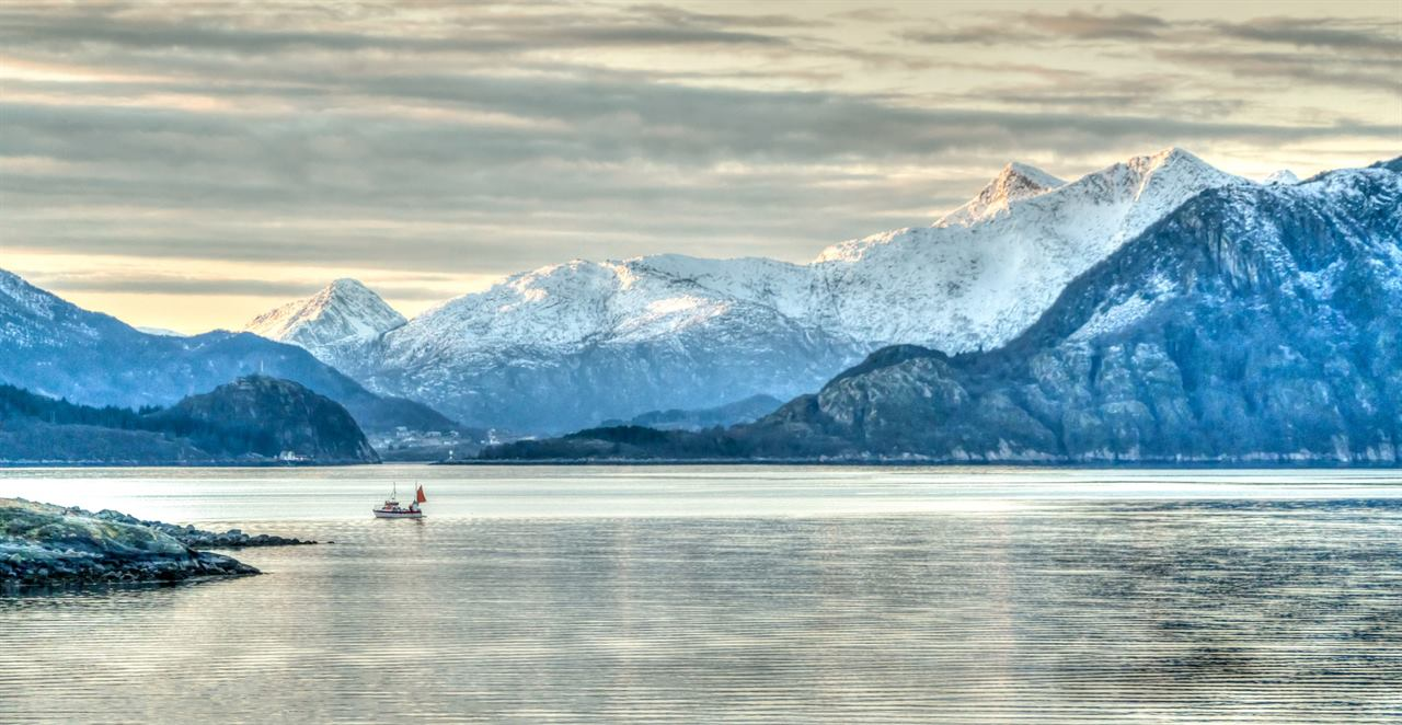 Морские путешественники в Норвежском море