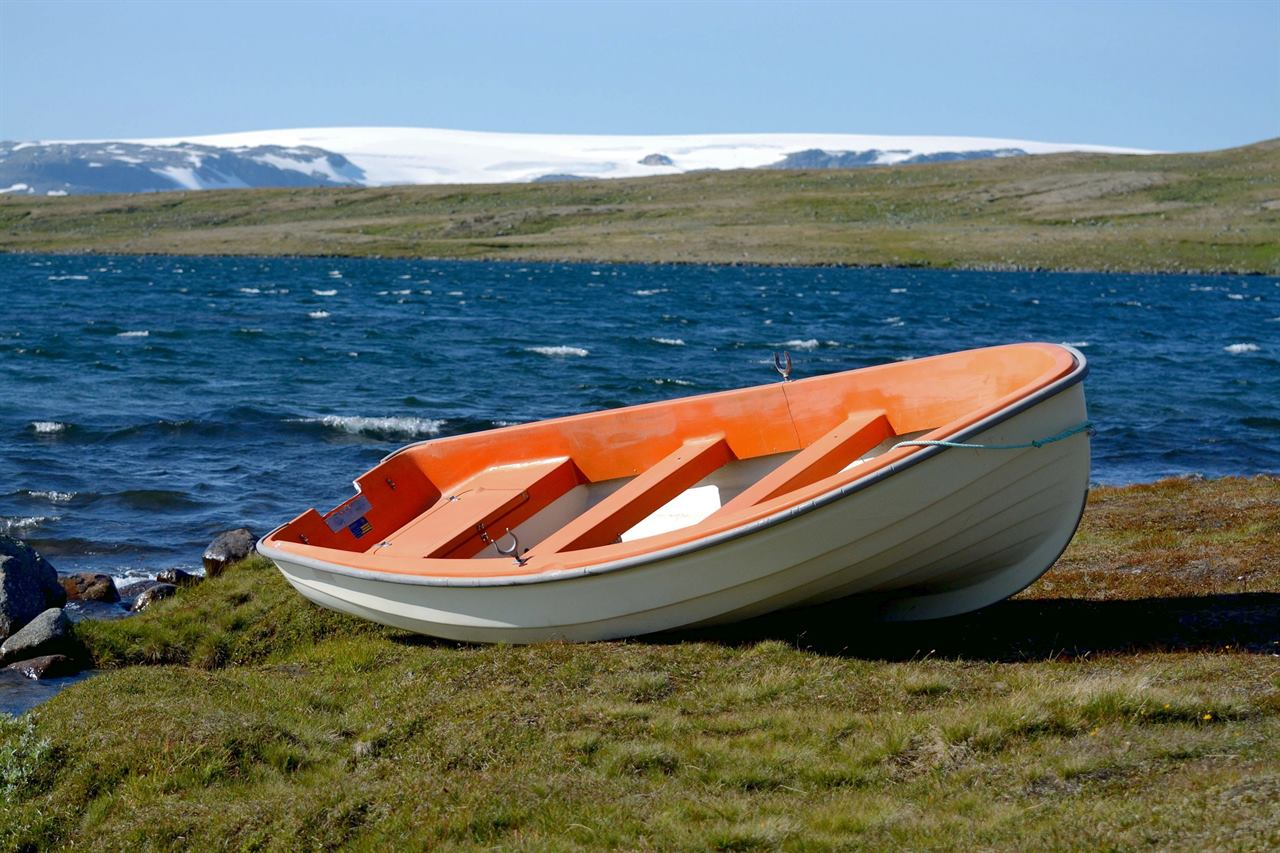 Рыбацкие лодки в Норвегии