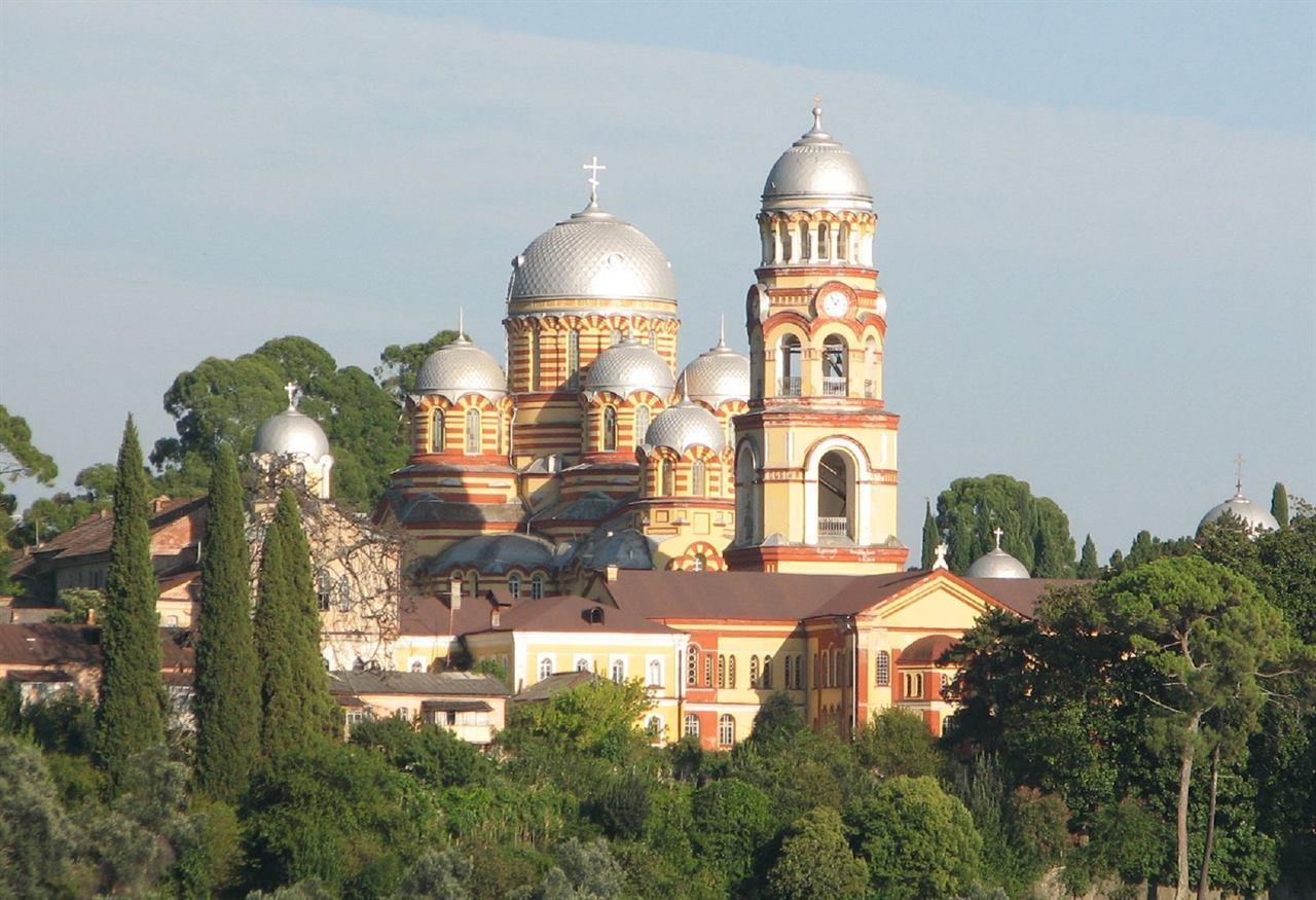 Абхазия, Ново-Афонский монастырь: история, описание