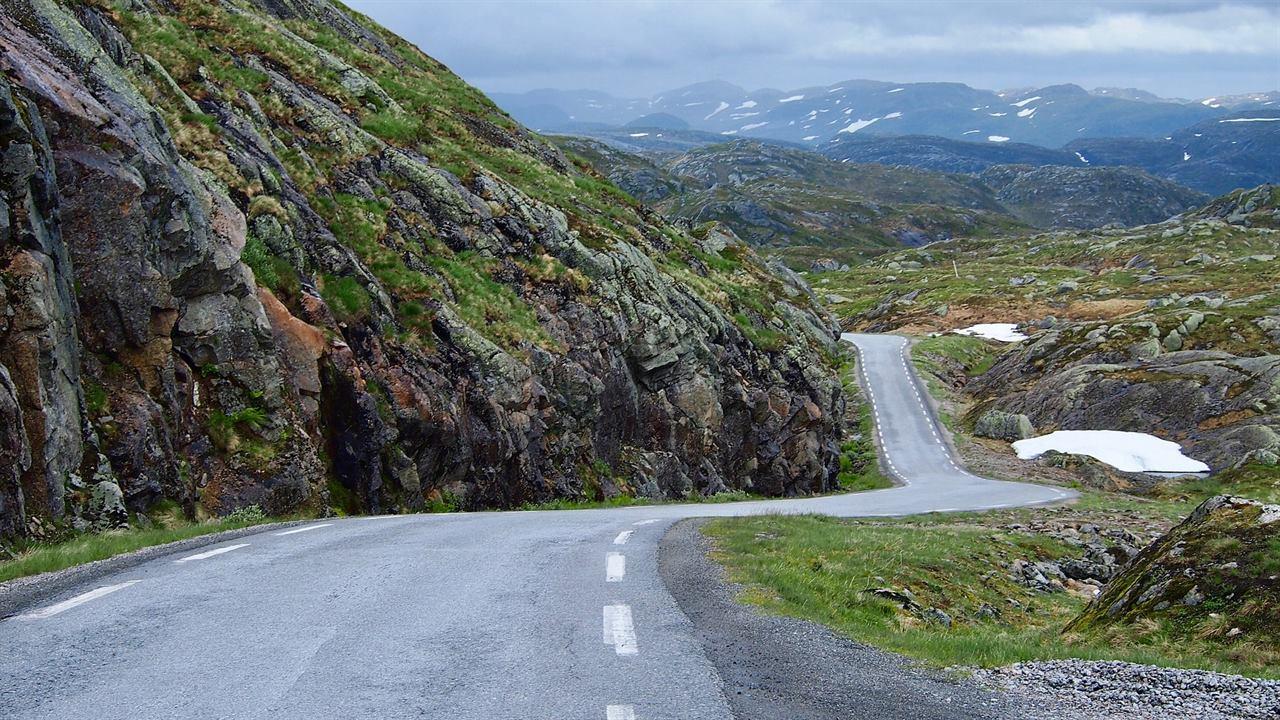 Норвежские дороги
