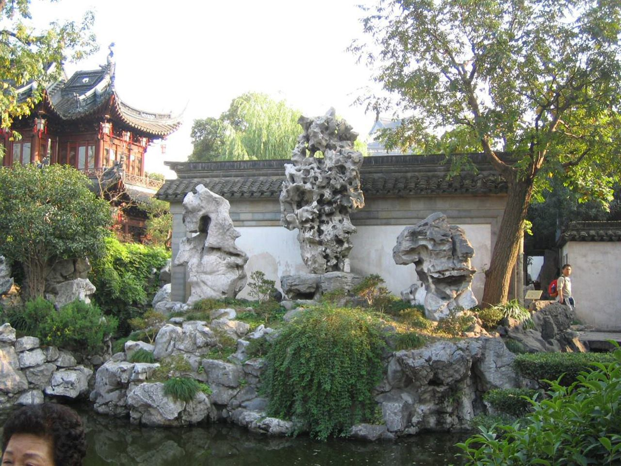 Прогулки по саду Юй Юань в Шанхае