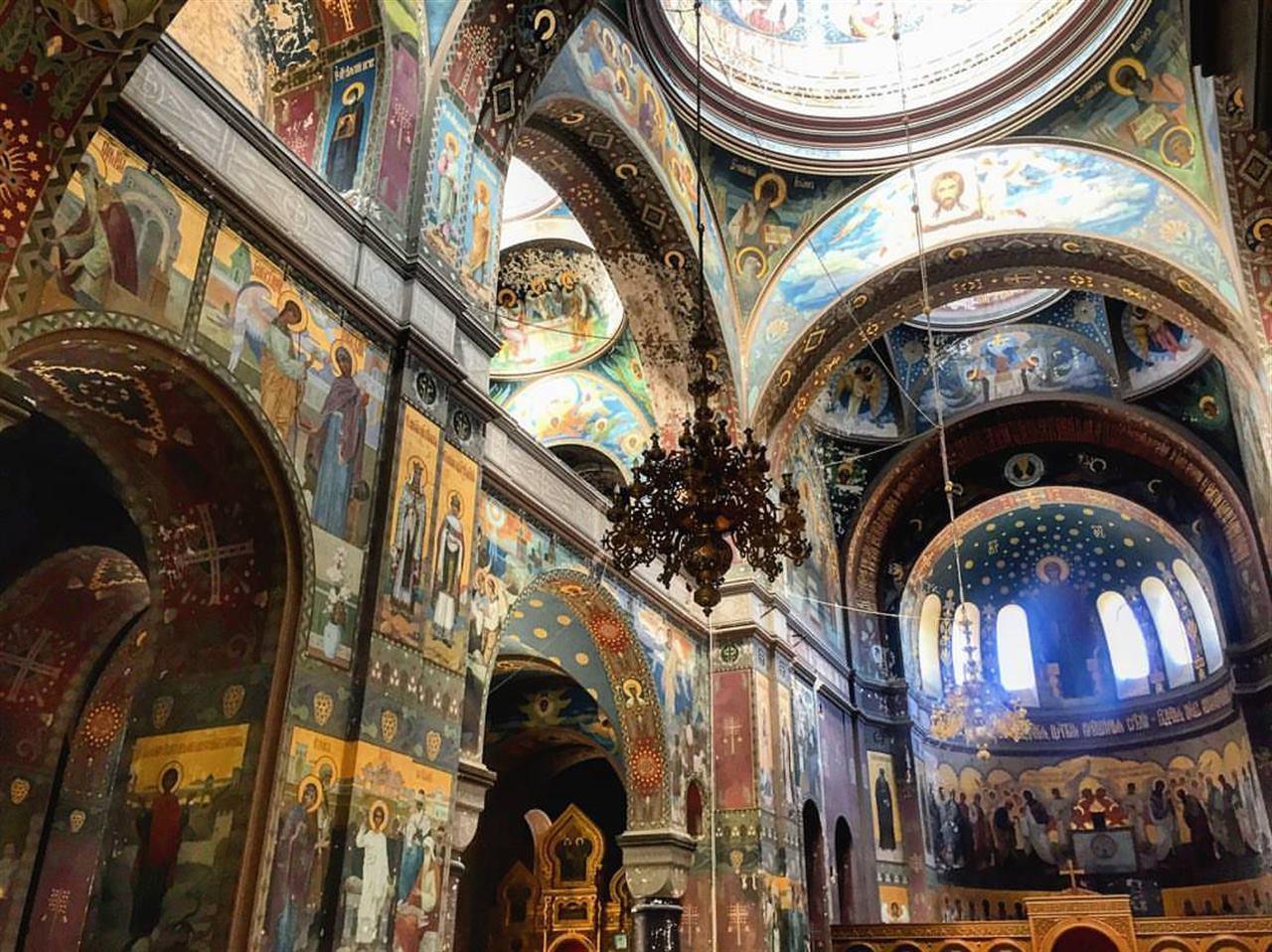 Собор внутри Абхазия Новый Афон
