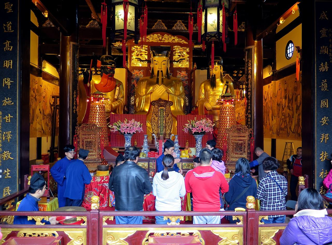 Храма Божества Юй Юань