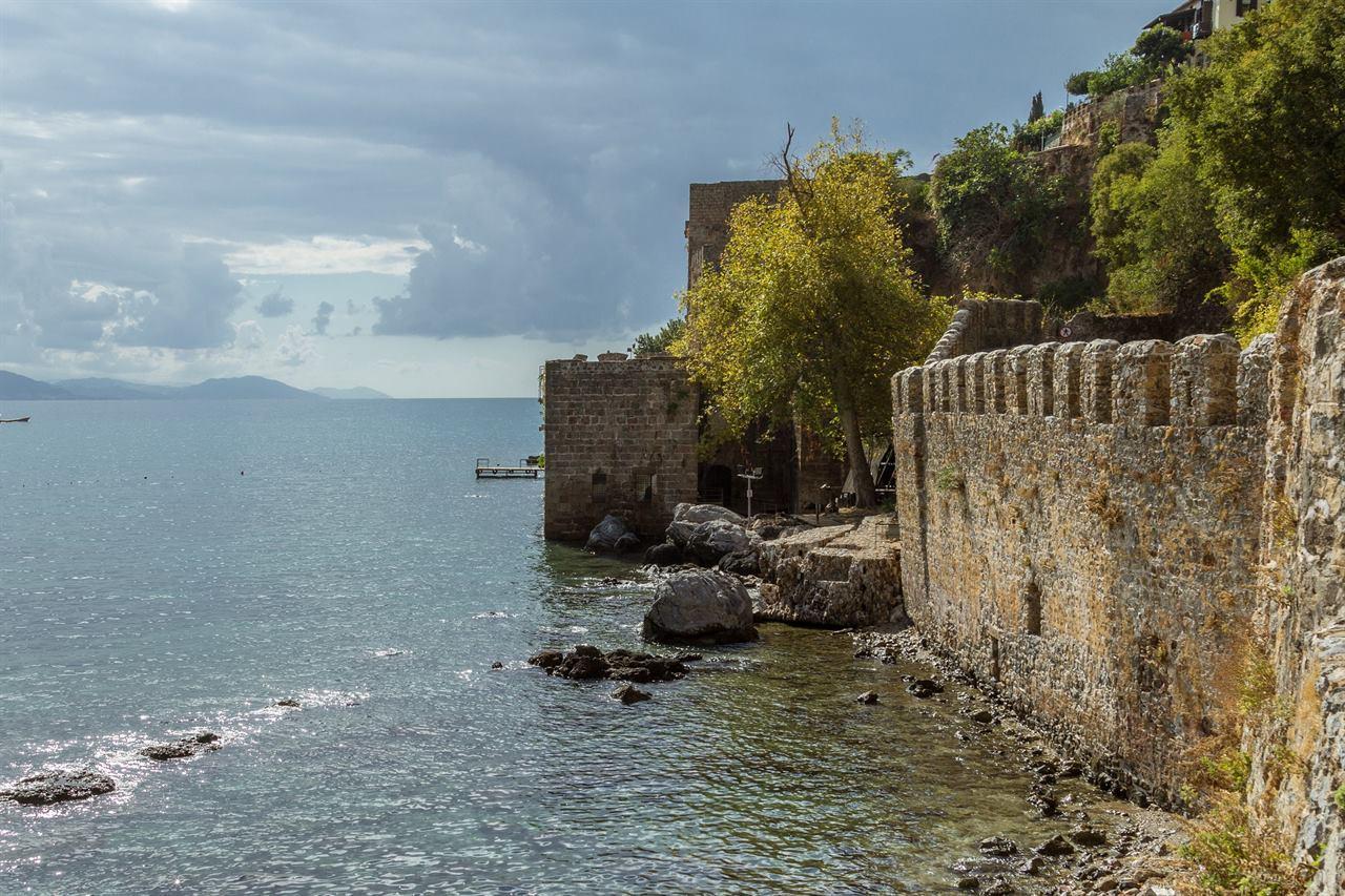 Крепость Аланьи берег море