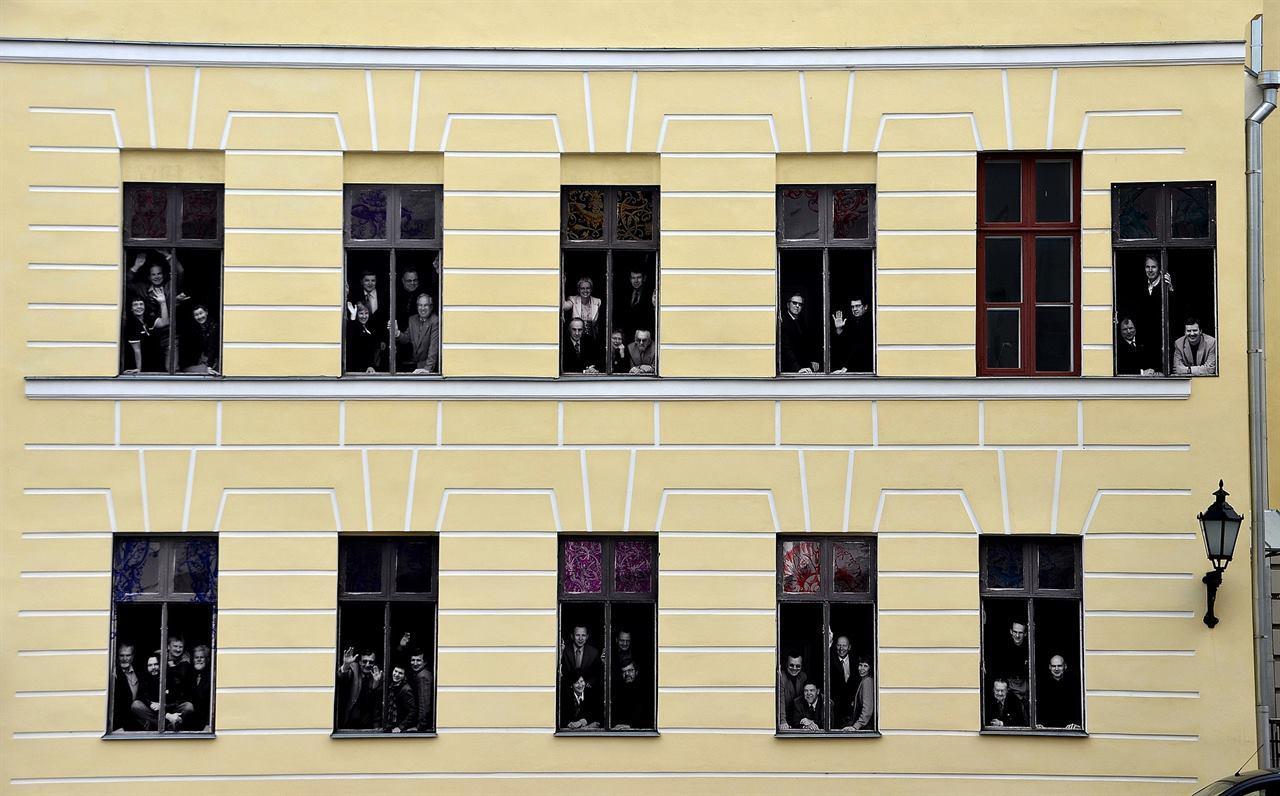 миниатюрный город мастеров Тарту Эстония