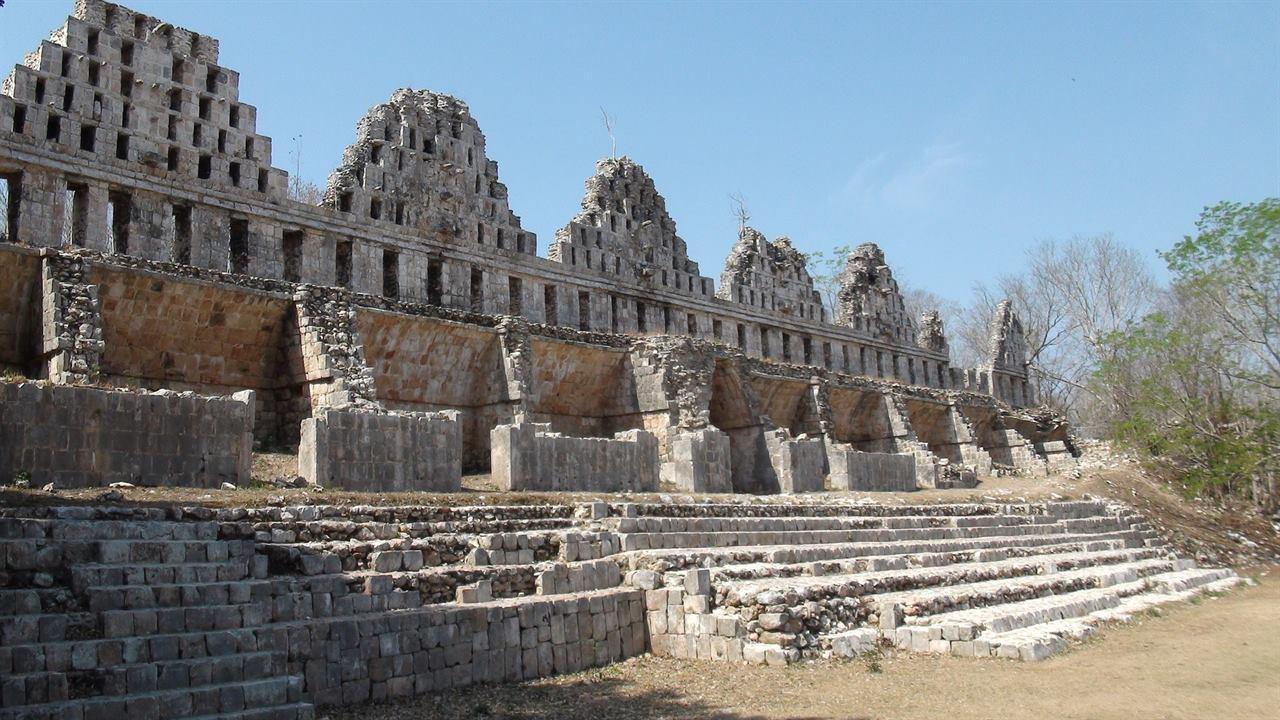 Ушмаль древний город Мексика