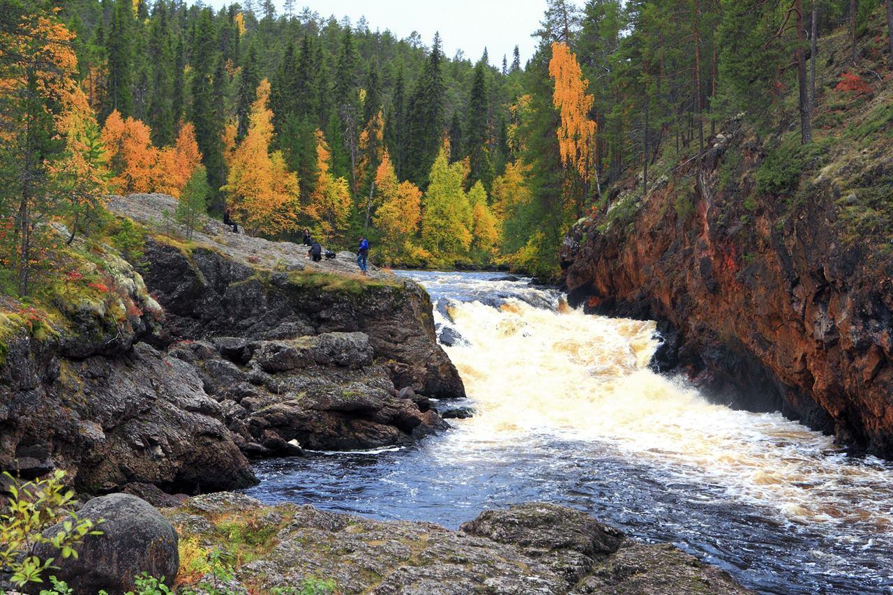 Река Оуланка Финляндия