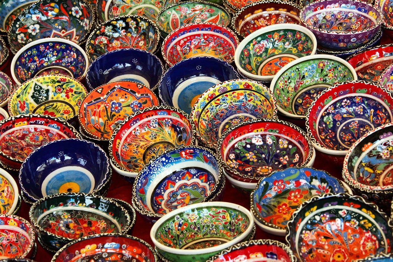 Тунис керамика кувшины горшки