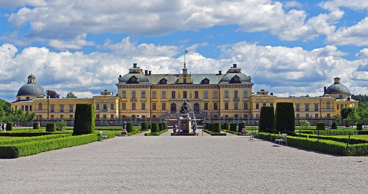 Дворец Стокгольм Швеция