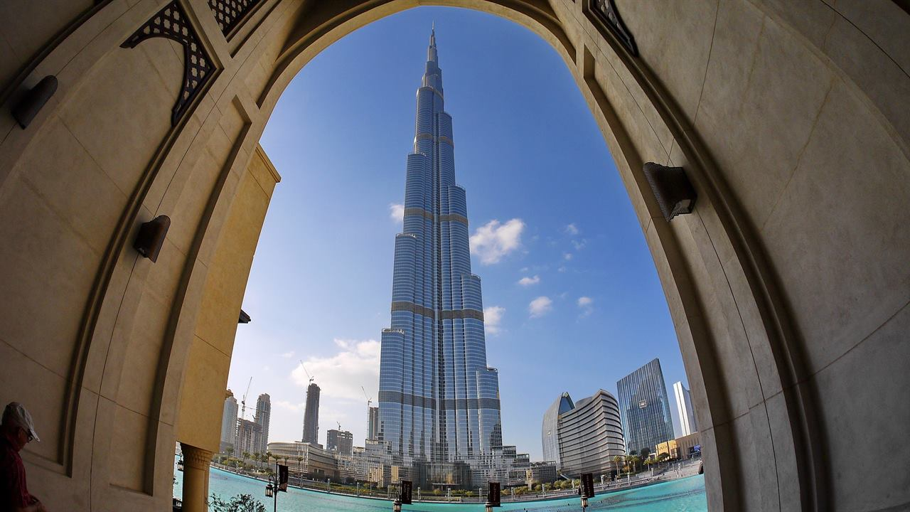 Небоскреб Дубаи
