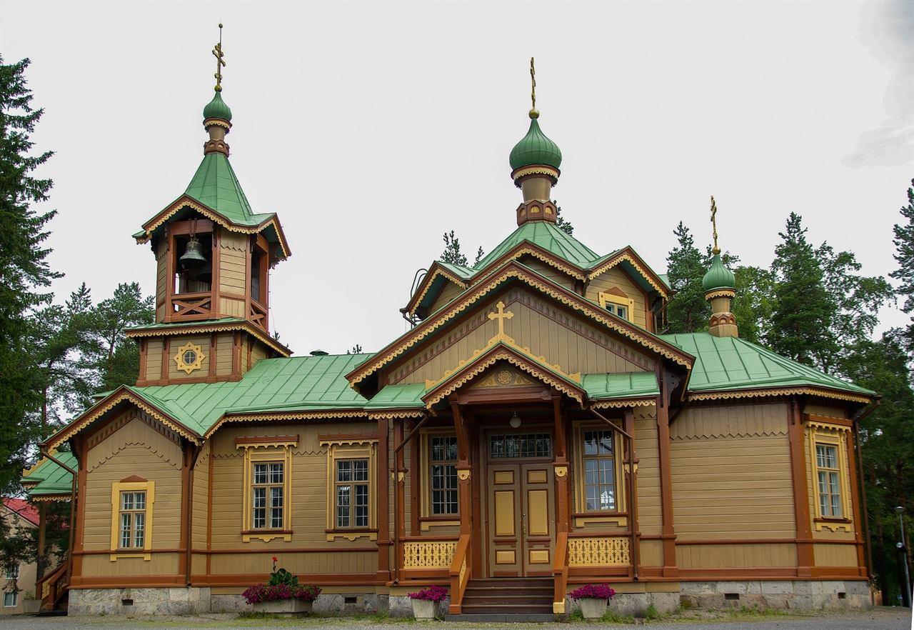 Загородный коттедж в Финляндии