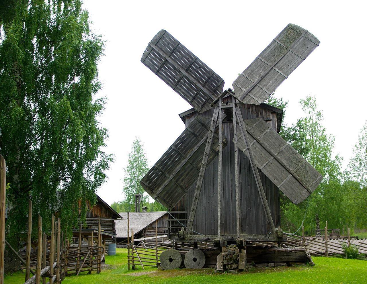 Финляндия мельница