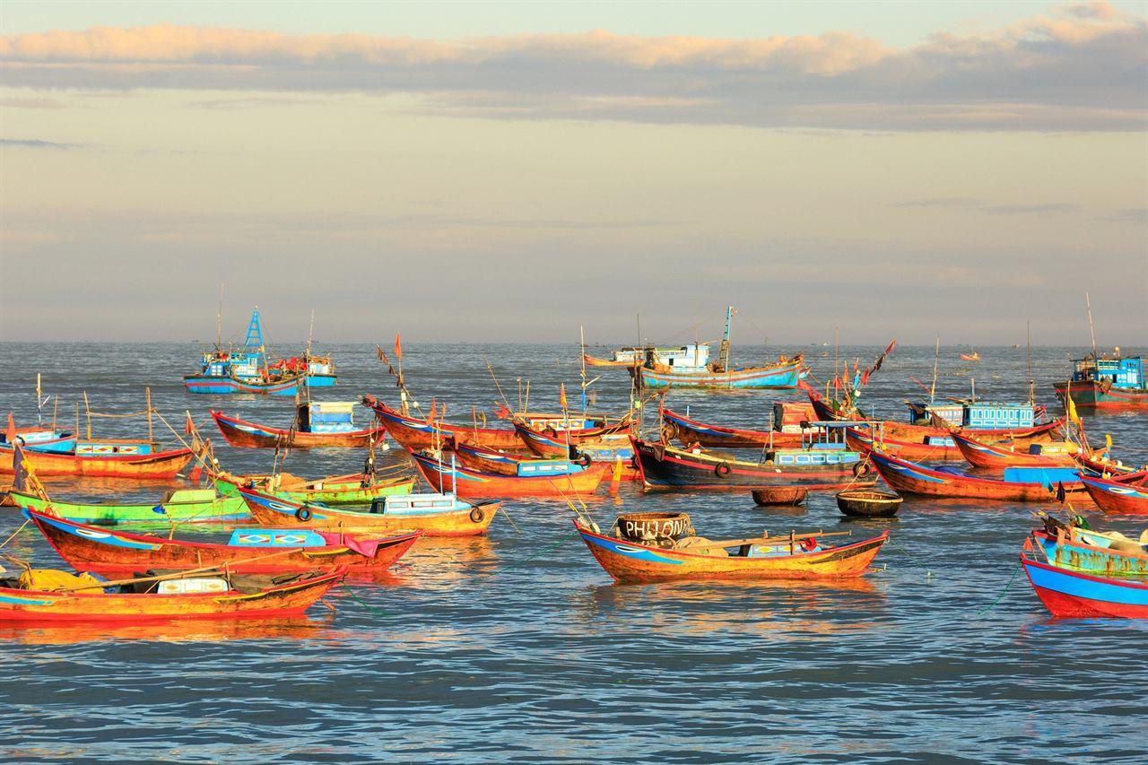 Рыбаки Вьетнам