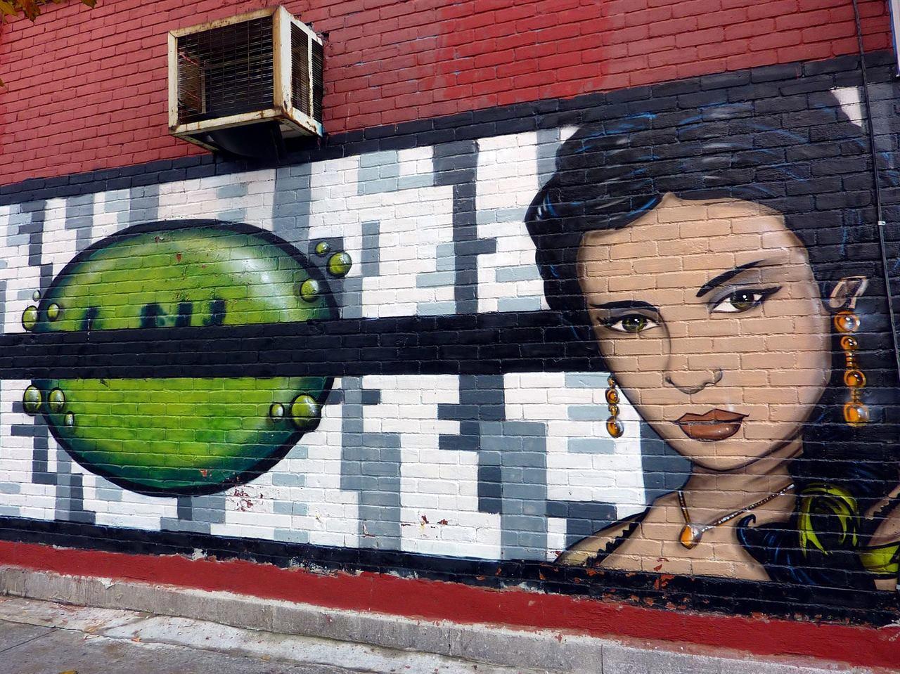 Современное искусство граффити Монреаль