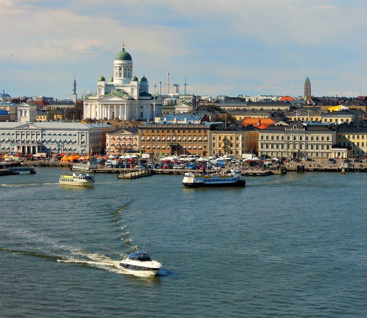 Финский залив Хельсинки