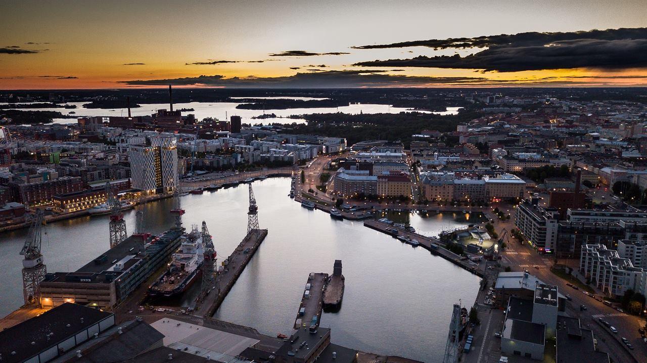 Ночьной Хельсинки