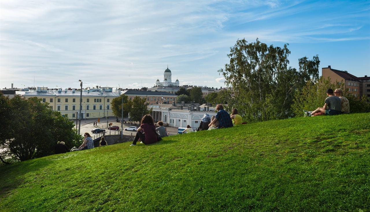 Финляндия Хельсинки город