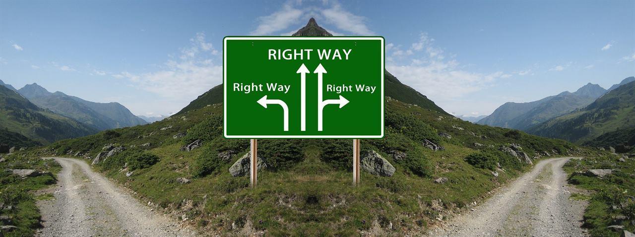 Выбор пути для путешествия