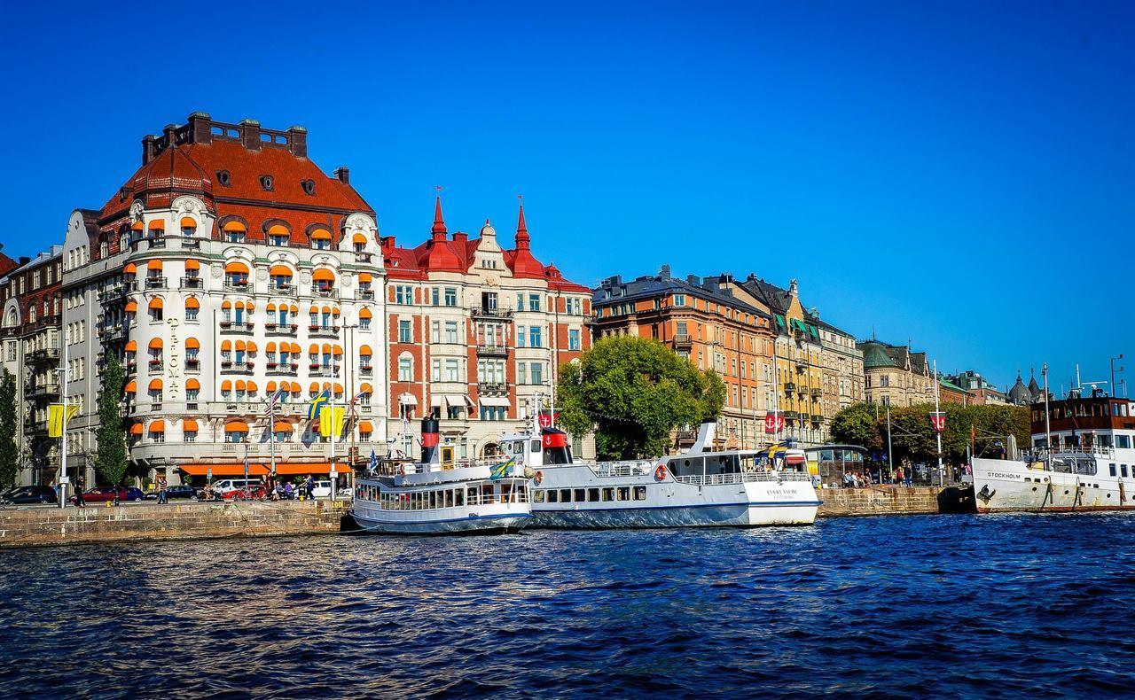 Стокгольм Швеция лодки
