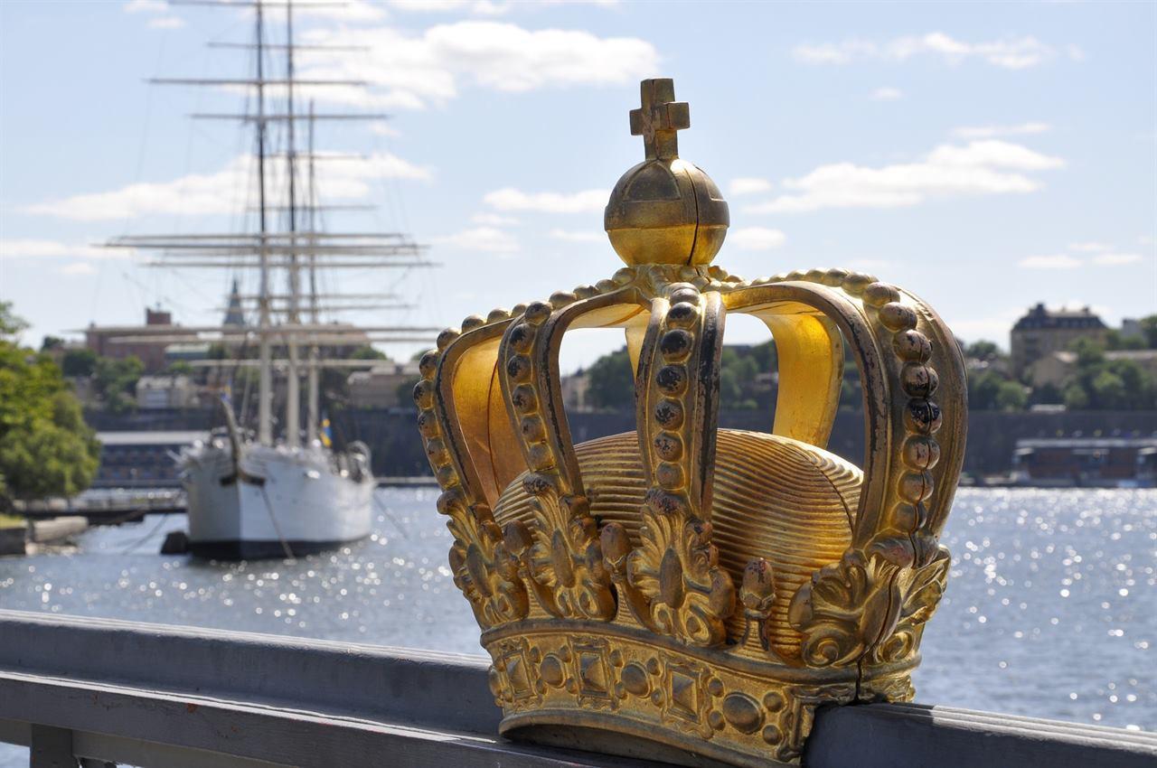 Набережная Стокгольм