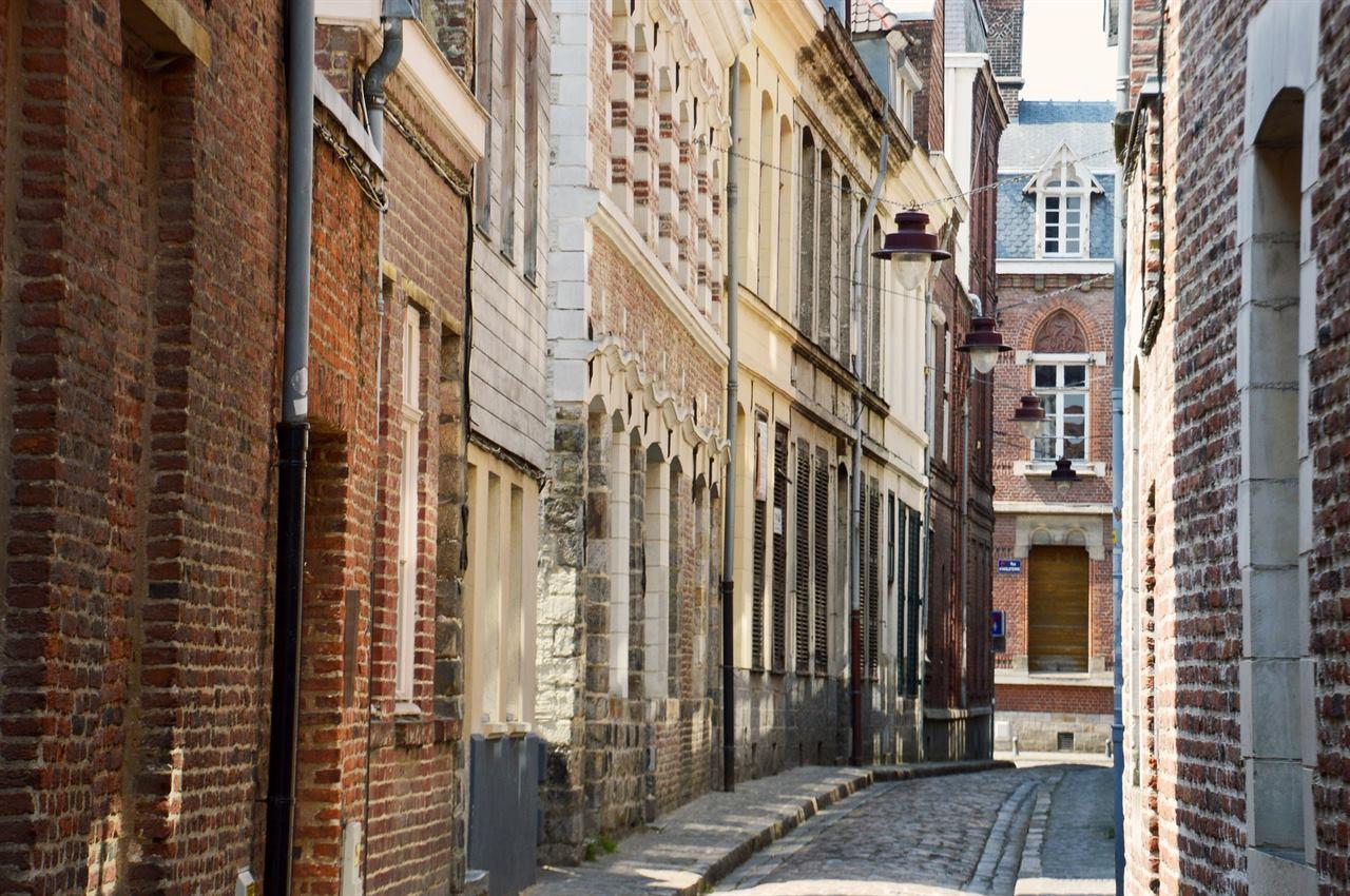Лилль - французский город текстильной промышленности