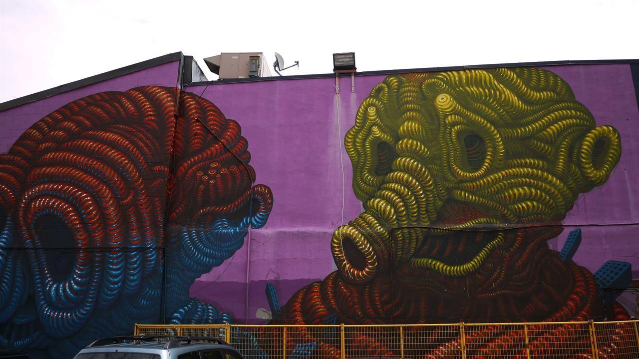 Граффити Монреаль