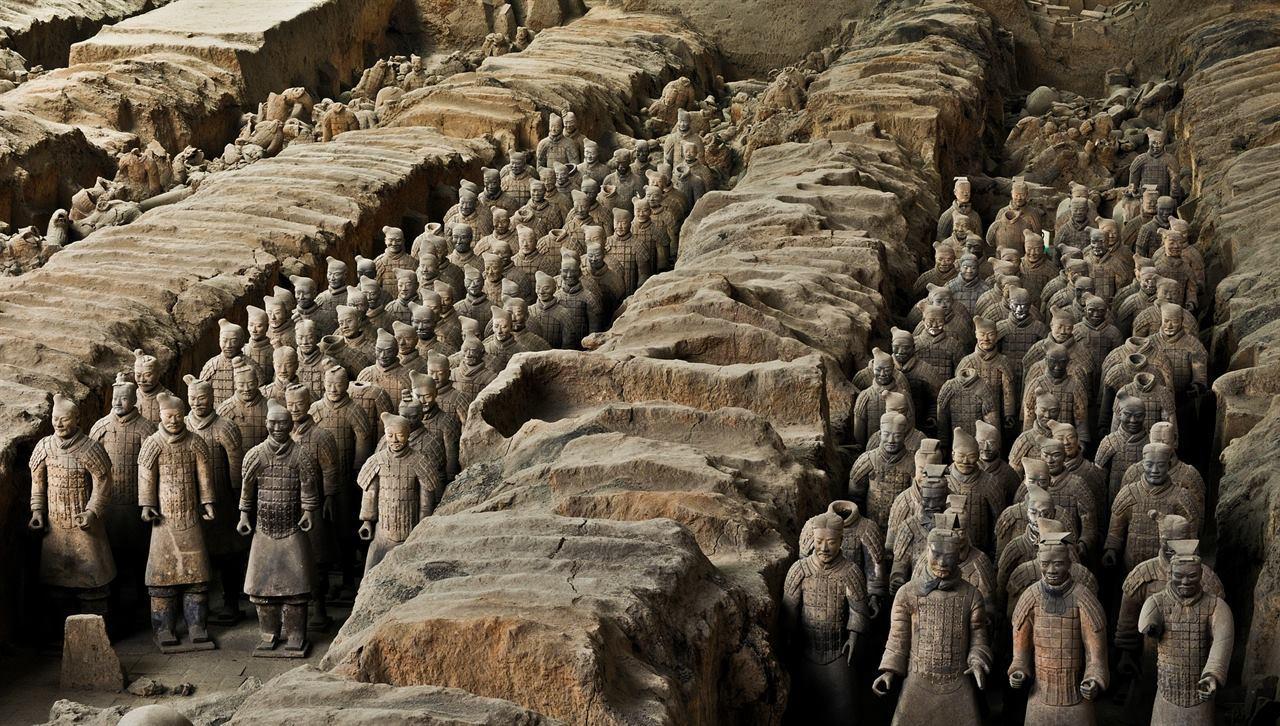 Терракотовое войско в Китае