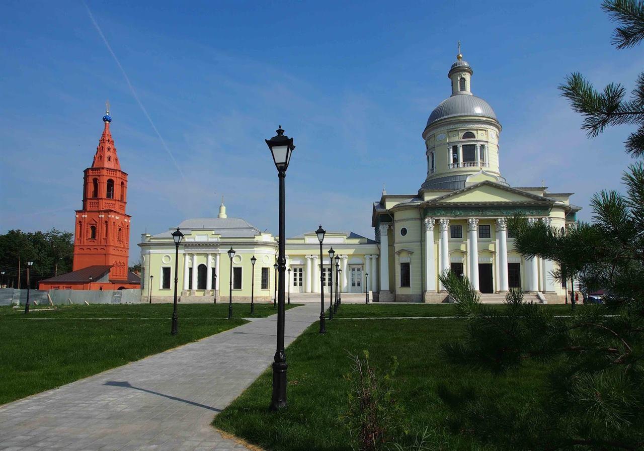 Епифань Тульская область храм собор