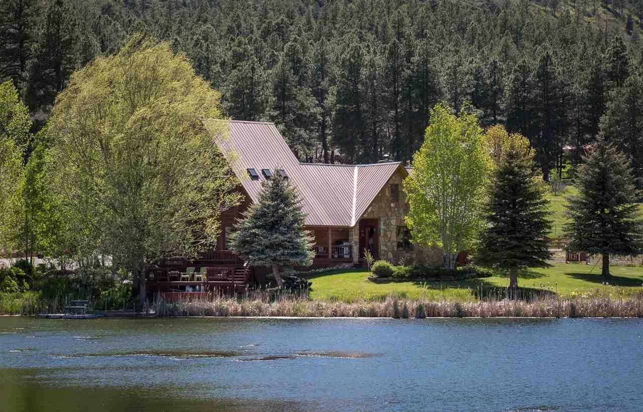 Дом на берегу озера в Бэйфилде Колорадо США