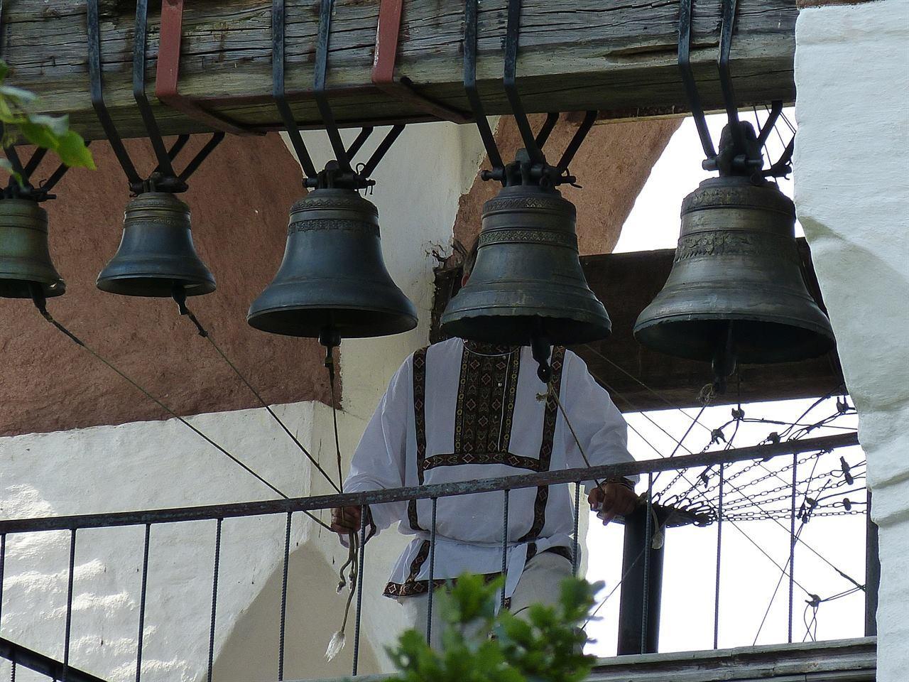 Колокола в Суздальском монастыре