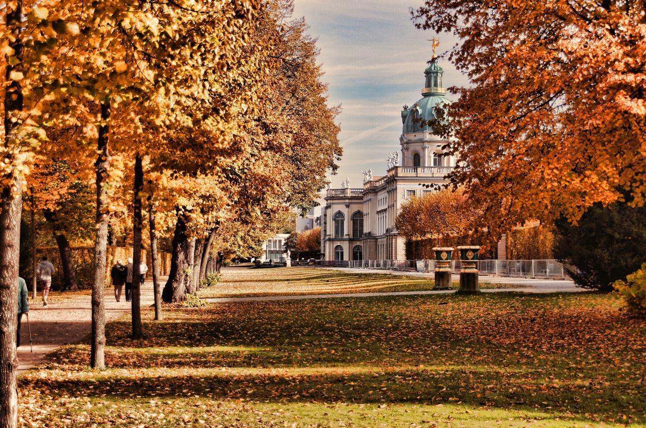Замок Шарлоттенбург Германия Берлин