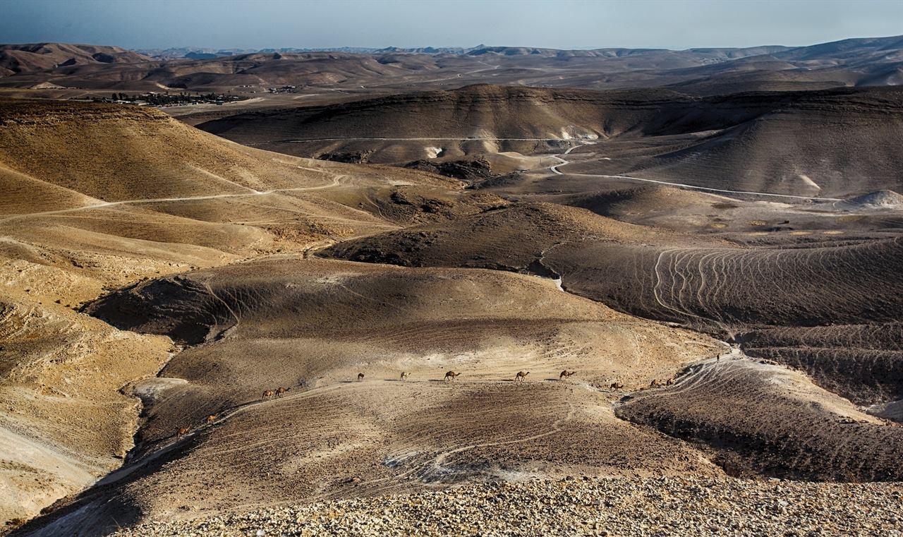 Израиль мертвое море пустыня