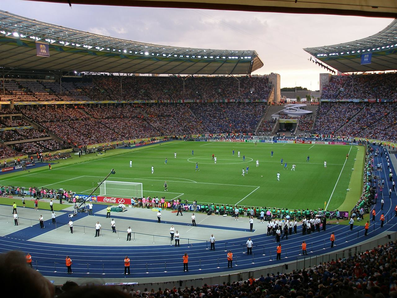 Футбольный стадион Берлин